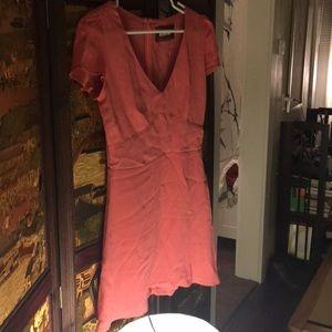 Pink reformation dress